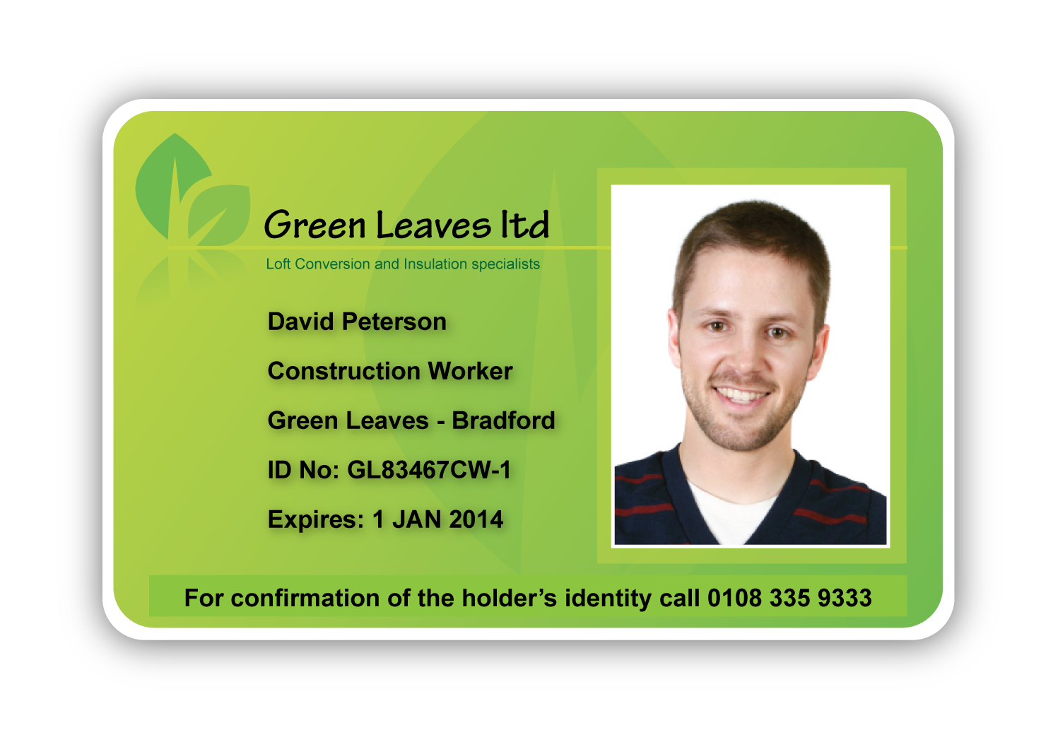 Business Id Cards Uk Gallery - Card Design And Card Template