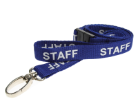 Contractor Red Lanyard